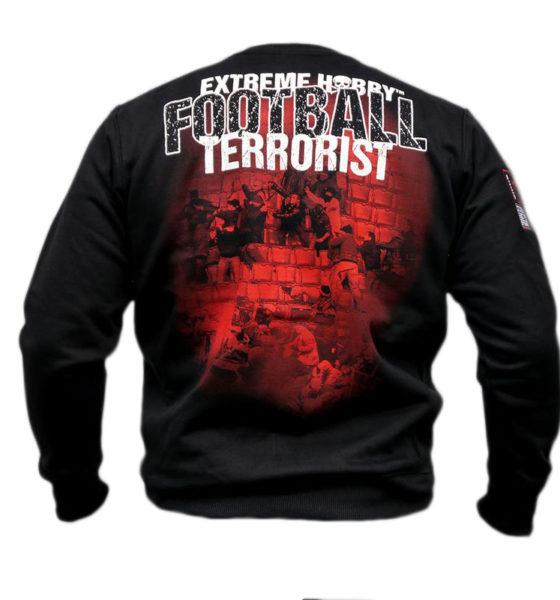 "Bluza ""FOOTBALL TERRORIST"" czerwona"