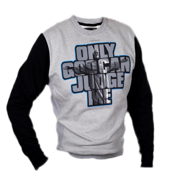 "Bluza ""ONLY GOD CAN JUDGE ME"""