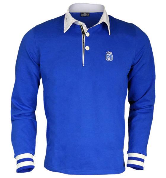 Polo rugby MADMAN niebieska