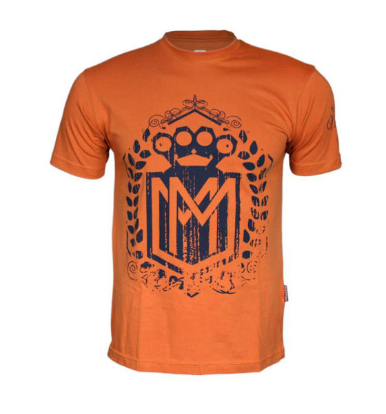 Koszulka LOGO pomarańczowa