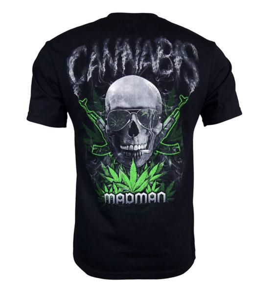 marihuana, ganja, skull